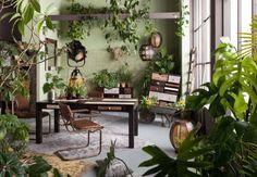 La chambre de verdure