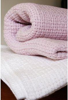 Organic Cotton Baby Blankets - Mungo