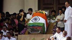 Narendra Modi pays last respects to Jayalalithaa comforts Panneerselvam- Sasikala