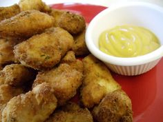 Yummy Homemade Chicken Nuggets from Just A Pinch