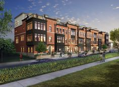 """Knutson Homes at Brambleton Town Center: All homes include a """"Yard in the Sky"""" - Loudoun's largest rooftop terraces."""