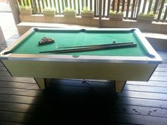7ft Portable Pool Table