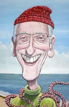Personaje del mes de Junio para Show de Caricaturas: Jaques Cousteau