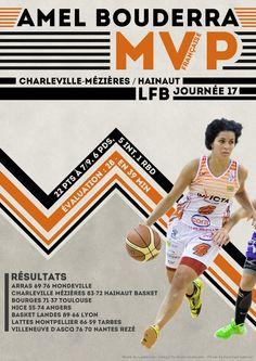 Amel Bouderra - MVP Française - LFB Journée #17