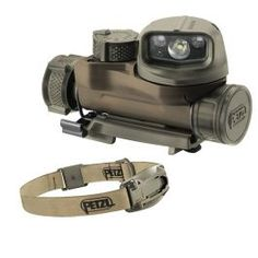 Headlamp with CONSTANT LIGHTING technology designed for military operations requiring maximum stealth.