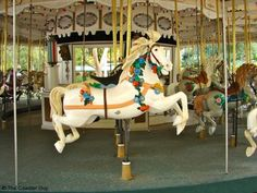 It was based on one of the original horses, which was eventually turned into this fiberglass version