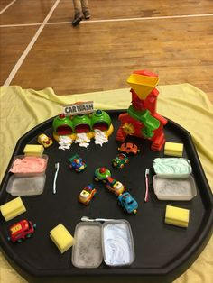 Car wash Kids Activities At Home, Car Activities, Preschool Learning Activities, Morning Activities, Car Wash Mitt, Car Wash Soap, Maths Eyfs, Teacher Breakfast, Tuff Spot