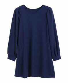 Vestido Azul Profundo. Revive su color con el Caballito.