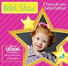 Moldura padrão para galeria de fotos Bebê Store (versão para meninas)
