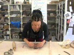 10 minute angel sculpture demonstration by Mathilda Tanner - YouTube
