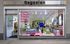 Gagosian Store on Madison Avenue in the Upper East Side, NYC. I saw a lot of Damien Hirst and Yayoi Kusama merchandise in there years ago.