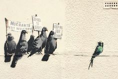 Banksy wanted Clacton-on-Sea to confront racism – instead it  print