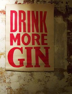 #Gin #drinkmoregin