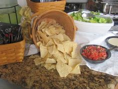ME Catering: Taco Bar Graduation Party
