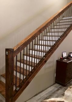 Image result for rustic staircase