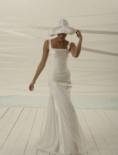 MY WEDDING DRESS IVE HAD PICKED OUT FOR YEARS!!!!    Le Spose di Gio A-Line Wedding Dress with Square Neckline and Dropped Waist Waistline