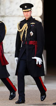 Prince William took the salute for the first time at Beating Retreat - hellomagazine.com