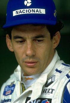 legendsofmotorsport: Ayrton Senna da Silva 21... - Motorsportsarchives