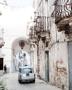 """Class Golden Era on Instagram: """"A little health walk in the rugged white streets of Puglia, Italy."""""""