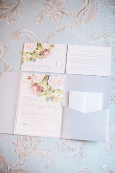Floral and traditional: http://www.stylemepretty.com/new-jersey-weddings/allentown/2015/05/06/pink-gray-summer-wedding-at-the-ashford-estate/ | Photography: Kay English - http://www.kayenglishphotography.com/