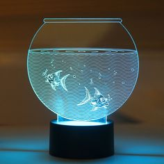 Aquarium LED Night Lamp #LEDnightLamp #NightLamp #3DLamp #TableLamp #3DNightLamp #Shopping