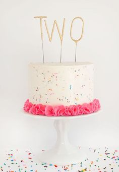 עוגת יום הולדת שנתיים