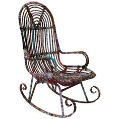 Modern Rocking Chair Multi now featured on Fab.