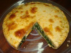 Tarta Pascualina de espinacas