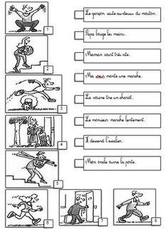 Reconnaître le verbe - CP