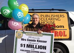 PCH Winner Connie Kiesser [Tony Casillas]