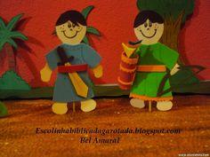 Escolinha Bíblica da Garotada: Maternal 2015: Lição 08- A história de dois amigos...