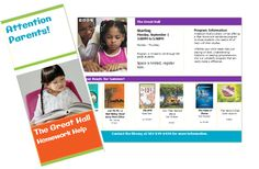 [Kentucky]  Anderson County Library's homework help tri-fold does a great job of letting parents know how the library can help them- homework help AND reading suggestions.