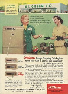 ncr products vintage