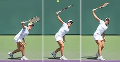 Justine Henin's one handed backhand. Step by step. Awesome