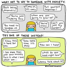 """Or those things that people always say to you. 