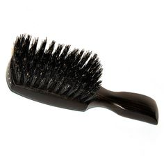 Fendrihan Exclusive Handmade Ebony and Boar Hair Brush by Keller - Made in Germany