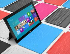 Windows Surface RT tablets will be thinner and lighter than the iPad Microsoft Surface, Windows Rt, Surface Rt, Advertising Techniques, Tablet Reviews, New Tablets, Digital Signage, Laptop Computers, Tecnologia