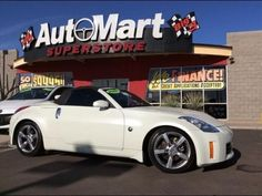 Tuner car custom nissan 350z convertible with volk racing gt c convertible 2007 nissan 350z touring with 2 door in chandler az 85225 sciox Choice Image