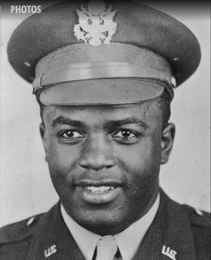Baseball Legend, Jackie Robinson US Army (Served Short Bio: Hall of Fame Major League Baseball Player, Social Reformer. Famed baseball player and civil rights advocate who became the first African-American to play in modern major league baseball. Jackie Robinson Facts, Gi Joe, Famous Veterans, Military Veterans, Military Brat, Military Service, Before Us, African American History, Military History