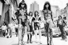 KISS had a strange origin story. The formed in New York City in January 1973 - with the original lineup of: Paul Stanley, Gene Simmons, Peter Criss, and Ace Frehley. Paul Stanley, Gene Simmons, Blues Rock, New York Street, New York City, Kiss Destroyer, Kiss Rock, Eric Singer, Beatles