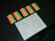 Simple , easy , great fine motor peeling off the stickers and good for kids not excited to get their hands messy.