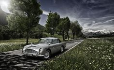 Aston Martin by Tim Wallace, via Behance