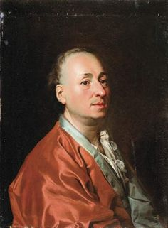Photograph:An oil portrait of Denis Diderot was painted by Dimitry Levitzky. It measures 69.5 cm x 52.3 cm.