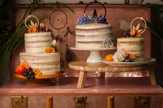 We Love: Bohemian, Original and Alternative Cakes from The Boho Bakery   British wedding blog - Bride and Tonic