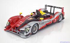 Le Mans Spark 1:18 Audi R15 No.7, Le Mans Kristensen/Capello/McNish 2010  Limited Edition 200 pcs. www.modelissimo.de