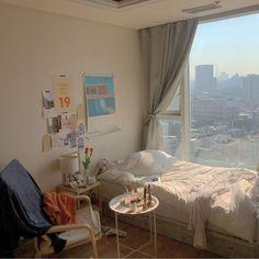 Room Ideas Bedroom, Bedroom Decor, Pretty Bedroom, Minimalist Room, Aesthetic Room Decor, Dream Rooms, New Room, Ikea, Korean Apartment