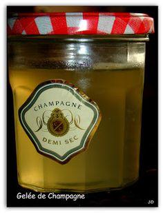 Carnet Gourmand: Gelée de Champagne