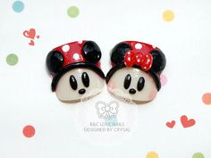 Summer Fake Toenails   Mickey & Minnie  by bclovenails on Etsy, $7.99