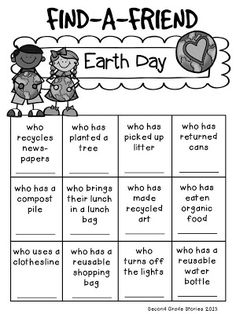 Earth Day Freebie Making Words  Word Search activities for
