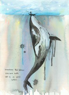 Whales design-art